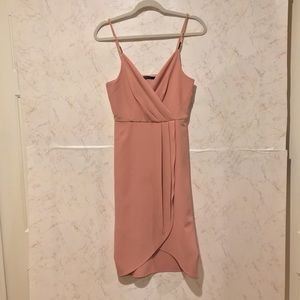 Rose colored summer dress
